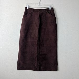 Old Navy suede like skirt